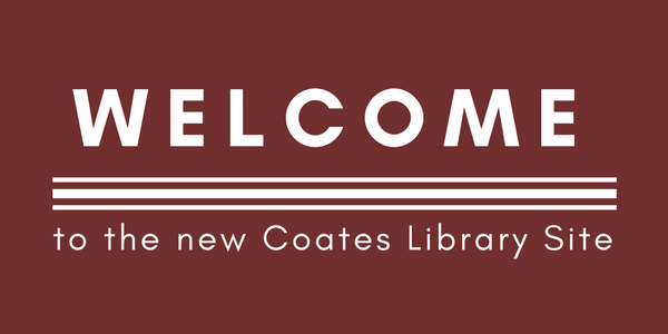 Welcome to the New Library Site