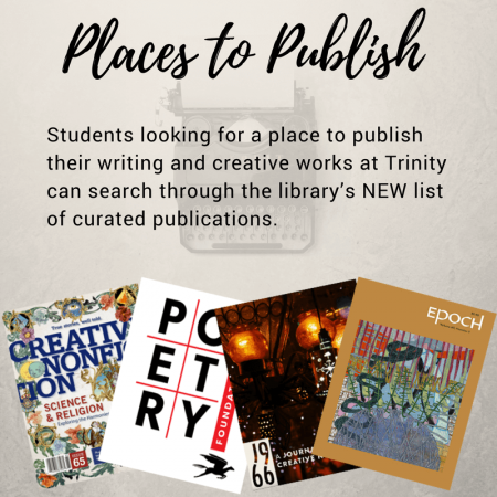 Places for Students to Publish