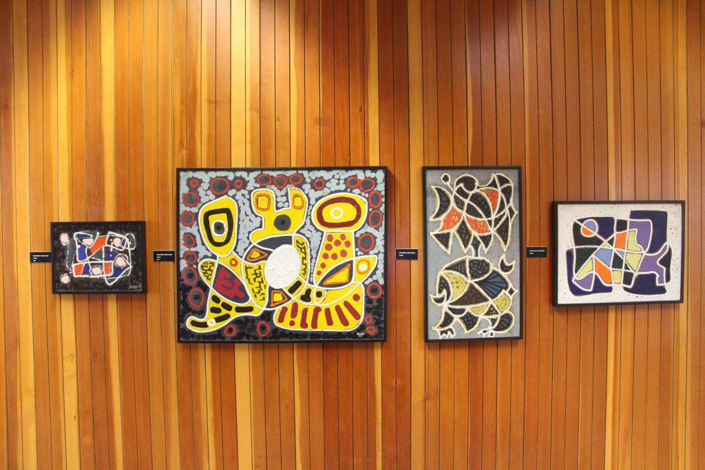 Sainz, Untitled Series of 4 Paintings