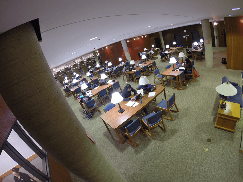 Second Floor Study Area