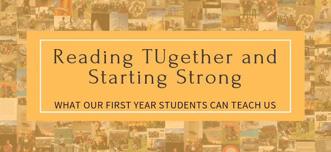 Reading Tugether and Starting Strong