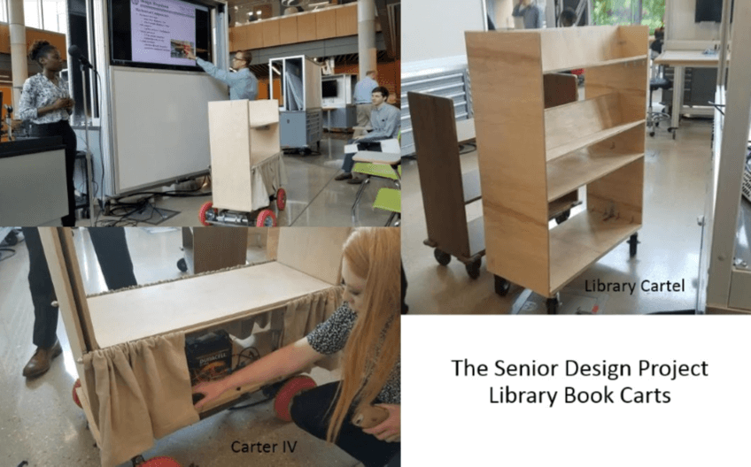 Cart Teams - The Senior Design Projects
