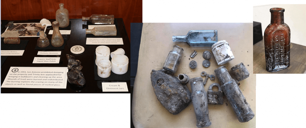 Artifacts found near Coates Library