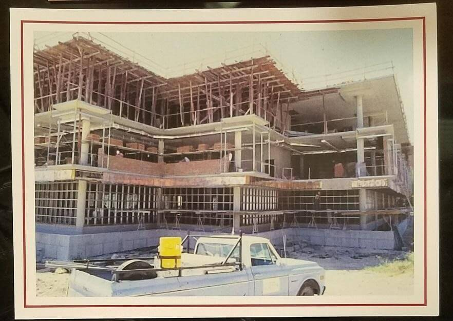 Construction of Coates Library