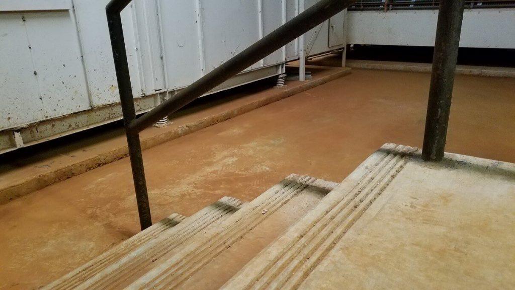 First Floor Orange Dirt