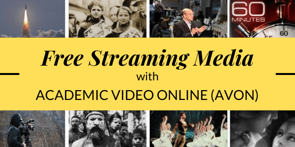 Free Streaming with Academic Video Online