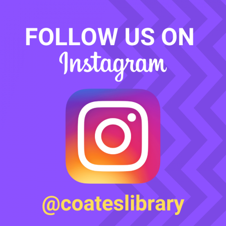 Follow Coates Library on Instagram