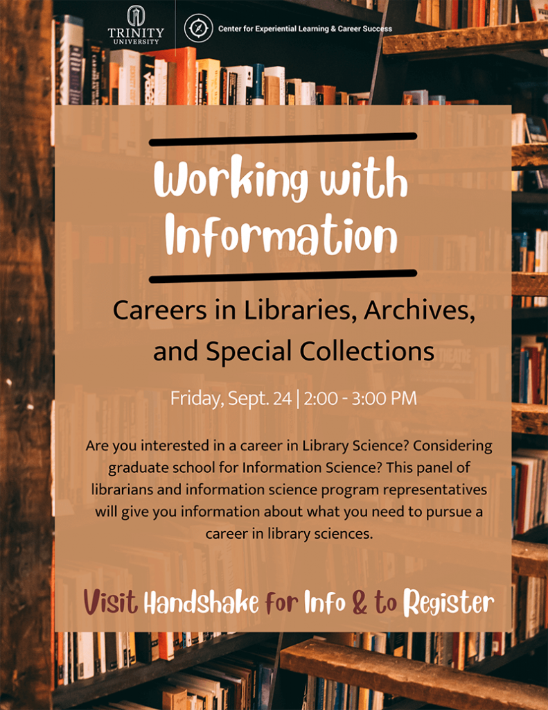 Working With Information Flyer