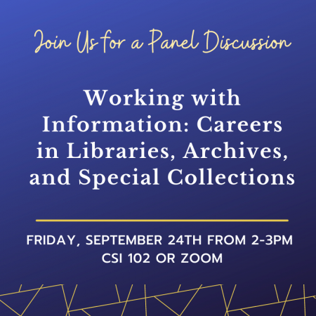 Working with Information Career Panel